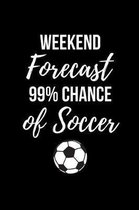 Weekend Forecast 99% Chance of Soccer