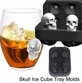 Ijsblokjes maker Skull-Doodshoofd-Mal-Voor Diepvries