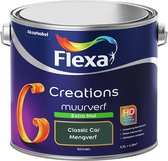 Flexa Creations - Muurverf Extra Mat - Classic Car - Creations- 2,5 Liter