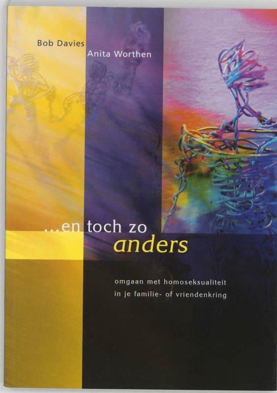 Cover van het boek '... en toch zo anders' van A. Worthen en Ben Davies