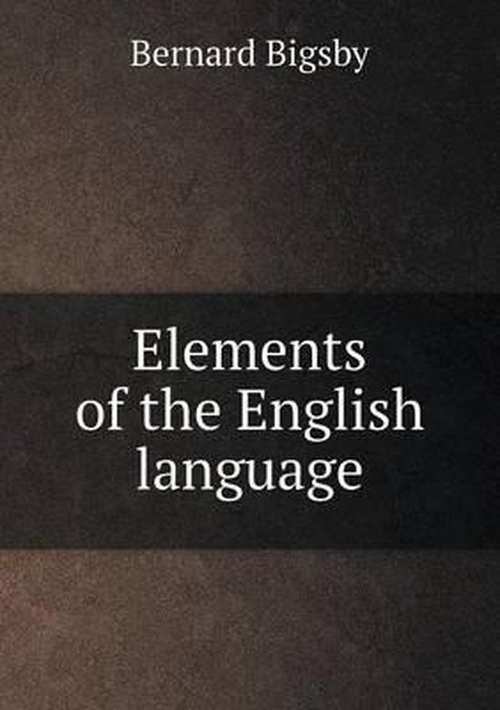 Elements of the English Language