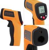 Infrarood Thermometer - Met Laserpointer | -50°C -tot 330°C - Excl. 2xAAA 1.5V batterij