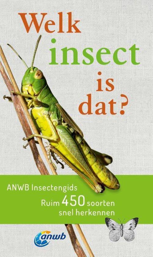 Boek cover Welke is dat? Natuurgidsen  -   Welk insect is dat? ANWB Insectengids van Heiko Bellmann (Paperback)