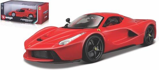Bburago FERRARI LAFERRARI modelauto schaal 1:18 rood