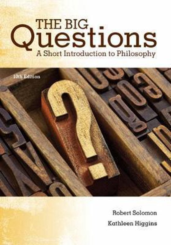 Boek cover The Big Questions van Robert Solomon (Paperback)