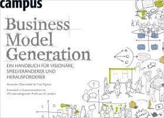 Boek cover Business Model Generation van Alexander Osterwalder (Paperback)