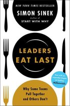 Boek cover Leaders Eat Last van Simon Sinek (Onbekend)