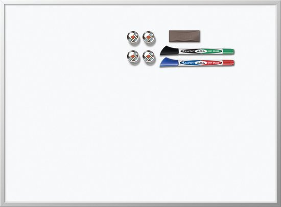 Nobo magnetisch whiteboard - aluminium lijst - 58,5 x 43 cm