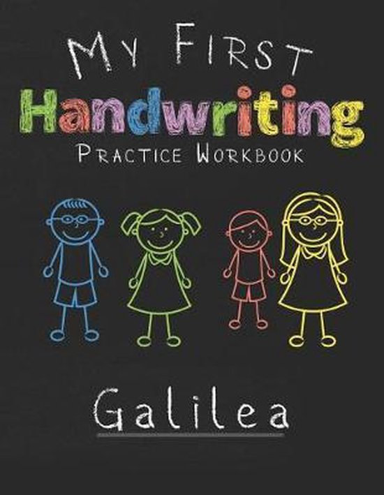 My first Handwriting Practice Workbook Galilea