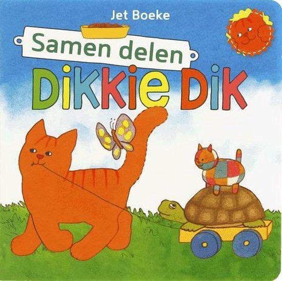Boek cover Dikkie Dik - Samen Delen van J Boeke (Onbekend)