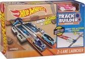 Track Builder 2-Lane Launcher Hot wheels