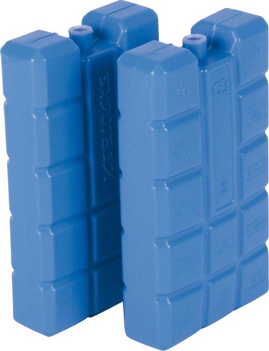 Koelelementen - 2 Stuks - 13x9x16 Cm - Blauw