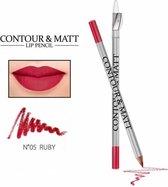 REVERS® Contour & Matt Lip Pencil #5 Ruby