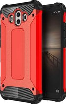 Let op type!! For Huawei  Mate 10 Magic Armor TPU + PC Combination Case(Red)