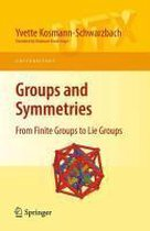 Boek cover Groups and Symmetries van Yvette Kosmann-Schwarzbach