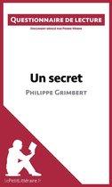 Afbeelding van Un secret de Philippe Grimbert