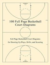 100 Full Page Basketball Court Diagrams