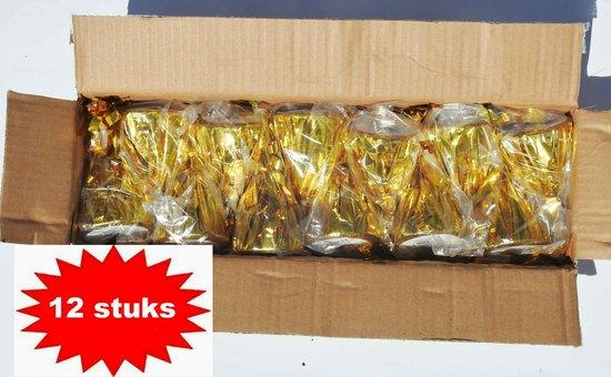 ballon gewichtje 160 gr goud 12 stuks
