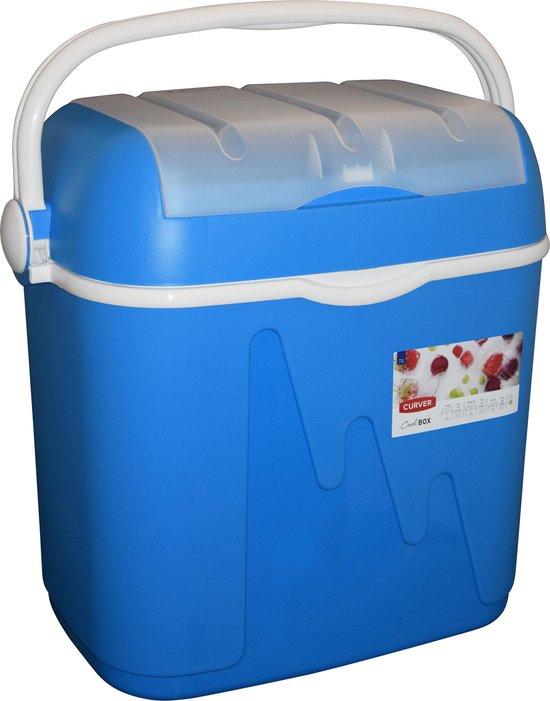Curver Koelbox - 39L (6L in Deksel) - 50x33x47cm - Blauw/wit