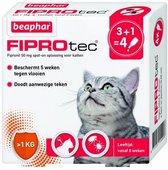 Beaphar Fiprotec Kat - Vlooienbestrijding -  >1 kg -  4 Pipetten
