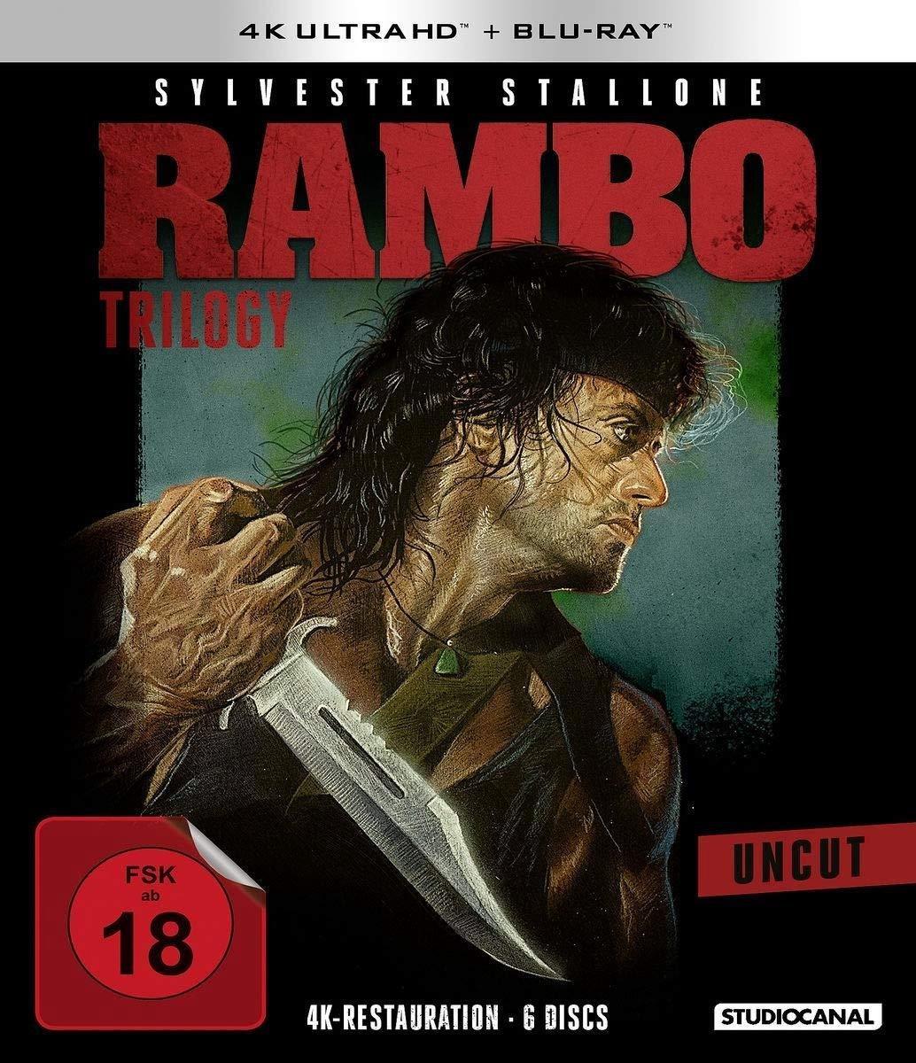 Rambo Trilogy (Ultra HD Blu-ray & Blu-ray)-