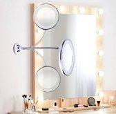 Flexibele Spiegel Met LED verlichting - Make-upspiegel - Scheerspiegel