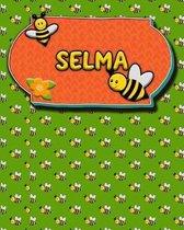 Handwriting Practice 120 Page Honey Bee Book Selma