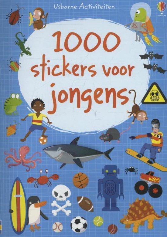 Cover van het boek '1000 STICKERS VOOR JONGENS'