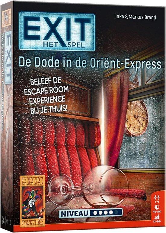EXIT De dode in de Orient Express - Escape Room - Bordspel