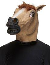 """""""Paarden masker voor volwassen - Verkleedmasker - One size"""""""
