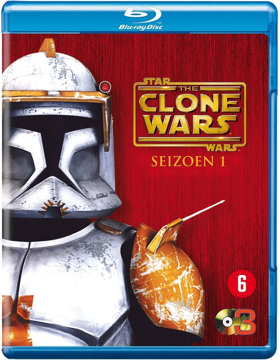 Cover van de film 'Star Wars: The Clone Wars'