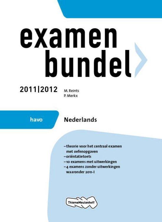 Examenbundel- Nederlands HAVO 2011/2012 - M. Reints pdf epub