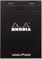 Dot Pad Rhodia No.18 - A4 - 80 pagina's - Zwarte Kaft