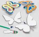 Ontwerp een vlinder-zweefvliegtuig  (6 stuks per verpakking)