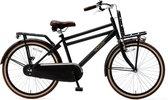 Nogan Vintage Transportfiets - Jongensfiets -  24 inch - Mat Zwart