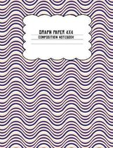 Graph Paper 4x4 Composition Notebook