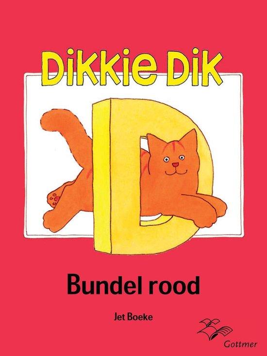 Boek cover Dikkie Dik - Bundel rood van Arthur van Norden