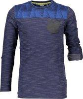 Bellaire Jongens Shirt - Blauw - Maat 146/152