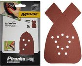 Piranha Schuurstroken Mouse, 80K 5 stuks X31004