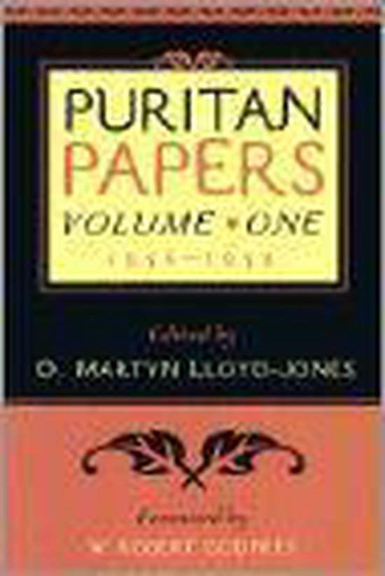 Boek cover Puritan Papers van W. Robert Godfrey (Paperback)