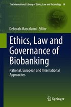 Omslag Ethics, Law and Governance of Biobanking
