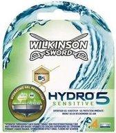 Wilkinson Hydro 5 Sensitive Scheermesjes - 4 Stuks
