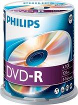 Philips DVD-R 4,7GB 100pcs spindel 16x