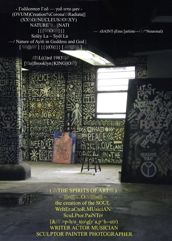 Boek cover The Spirits of Art / The Creation of the Soul / Photo-Book van Ssaint-Jems (Onbekend)