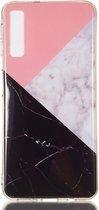 Samsung Galaxy A7 (2018) Hoesje Marmer Design TPU