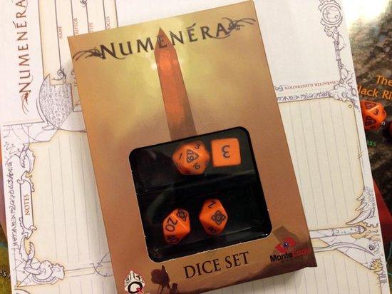 Afbeelding van het spel Numenera Dice Set