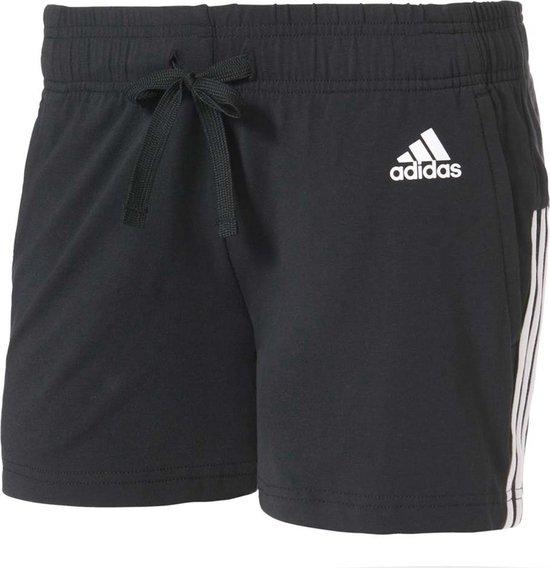 adidas Essentials 3 Stripes Short Sportbroek Dames XS Black