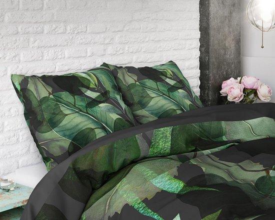 Sleeptime Wild Plants - Dekbedovertrekset - Tweepersoons - 200x200/220 + 2 kussenslopen 60x70 - Groen
