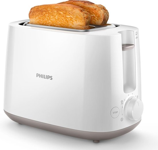 Philips Daily HD2581/00 - Broodrooster - Wit