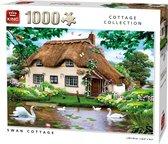 Afbeelding van King Puzzel 1000 Stukjes - Swan Cottage
